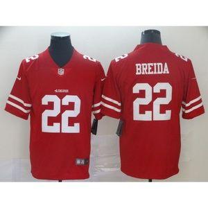 San Francisco 49ers Matt Breida Jersey